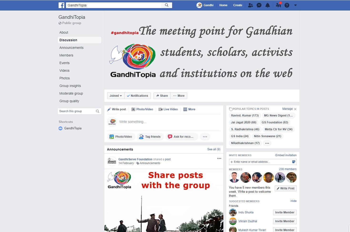 GandhiTopia