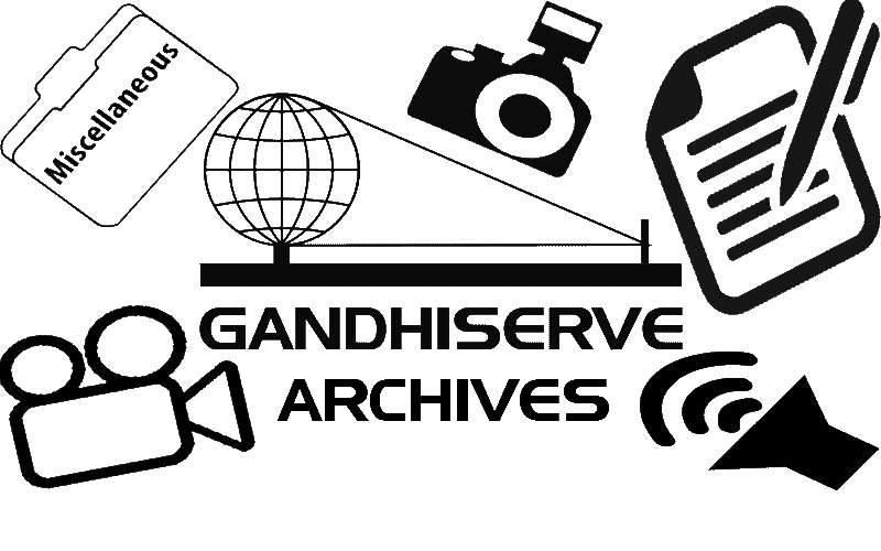 The GandhiServe Archives