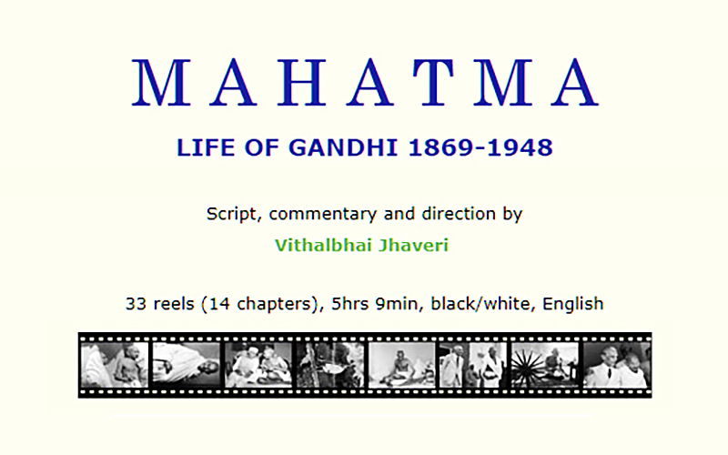 Documentary film MAHATMA - Life of Gandhi, 1869-1948