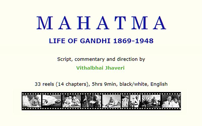 Documentary film MAHATMA - Life of Gandhi, 1869-1948