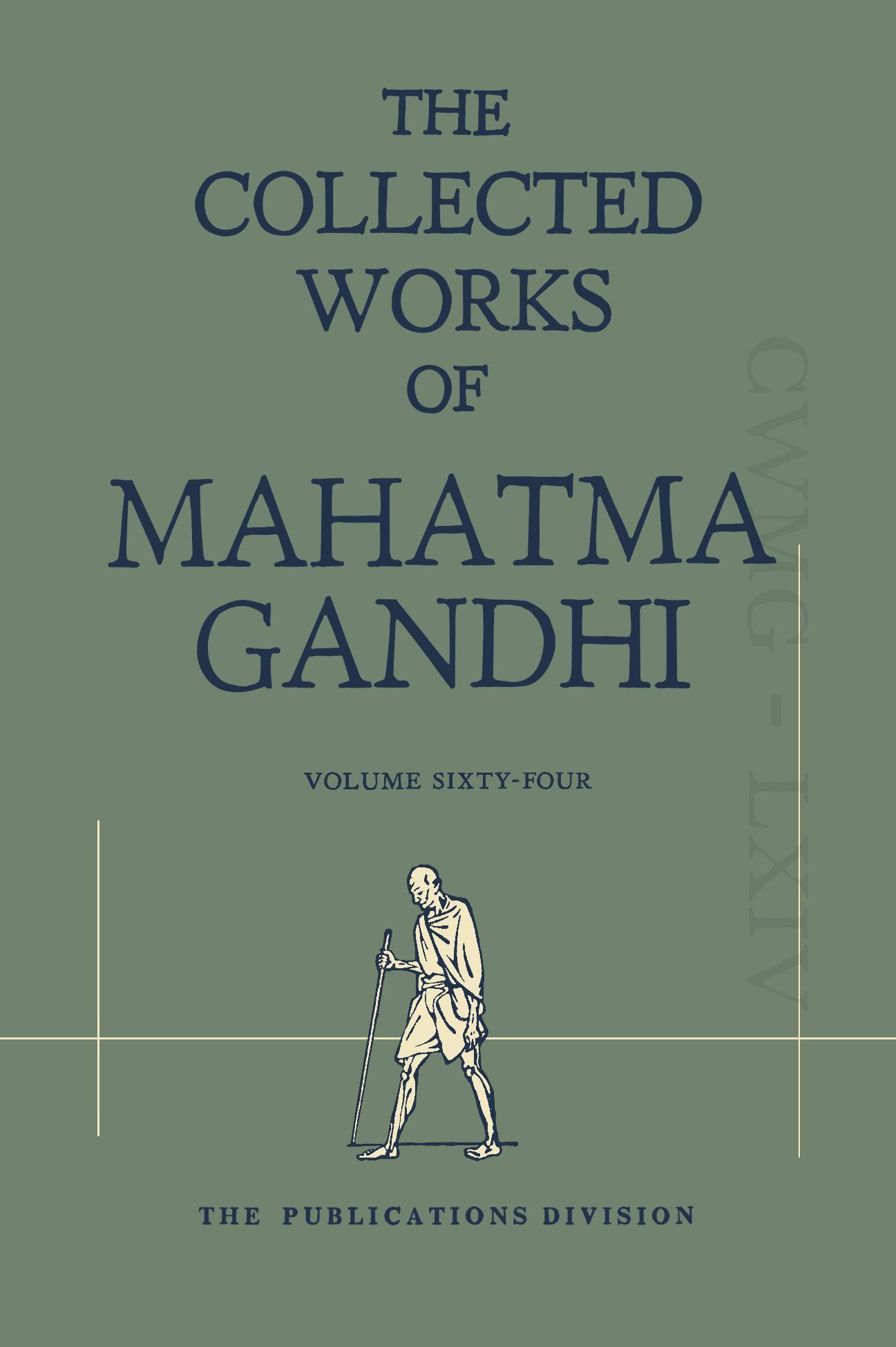 CWMG - Vol  64 - GandhiServe Foundation