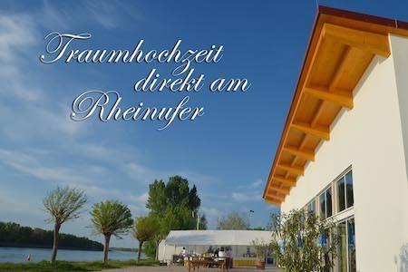 Hochzeitslocation Eventhalle und Restaurant am Rhein Breisach Freiburg