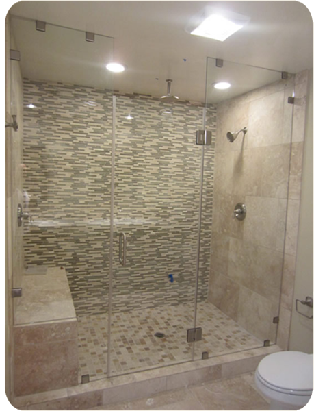 Custom Frame-less European Style Shower and Tub Enclosures   - Quality you deserve at a price you can afford