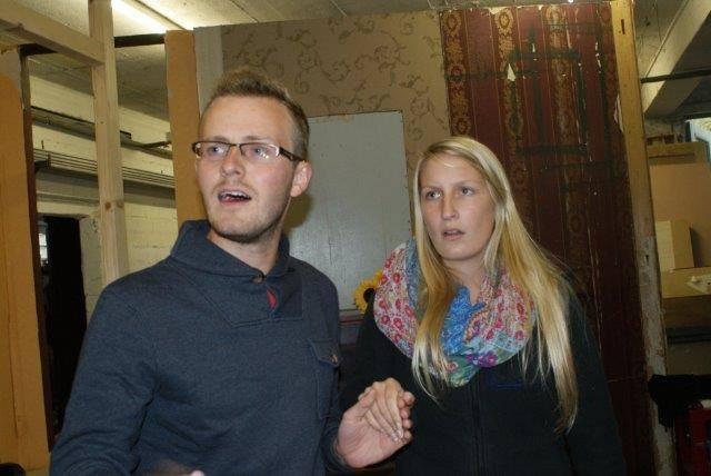 Julian Sommer und Kati Inden als Jack Chesney und Kitty Verdun! Sind sie nicht ein süßes Paar?