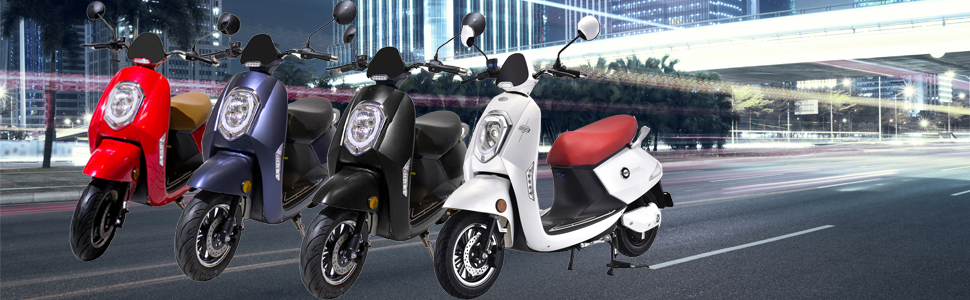 Moto electrica Sunra grace Ideal para ciudad carretera Utrera Sevilla