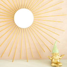 Sonnen-Wandobjekt