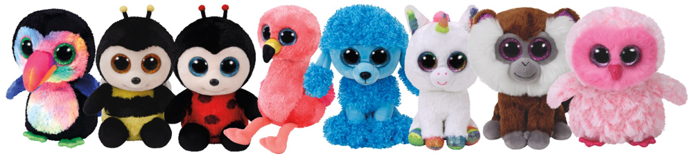 (01 June 2017) Ty has Announced 6 new Beanie Boos Based off of the  Paw  Patrol  TV Cartoon Series! Their names are  Marshall 98edc716a8a2