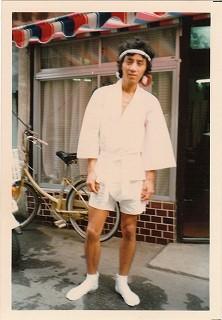 若かりし頃の二代目沢村オーナー