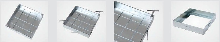 Heika-Ground System ECO galvanized steel