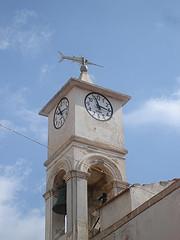 il campanile della chiesa dedicata a san Gaetano