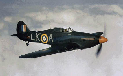 Hurricane caccia inglese