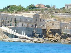 Casa del Barone Bruno di Belmonte proprietario della tonnata di Portopalo
