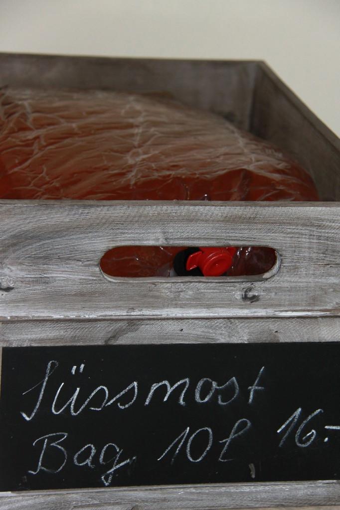 Süssmost in 5L und 10L Bag oder Box