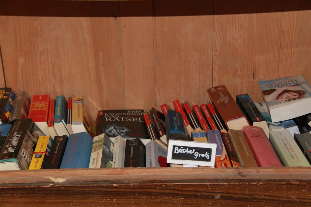Gratis Büchertausch