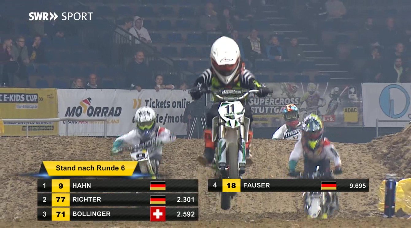 Das Rennen wurde live auf SWR Sport übertragen.
