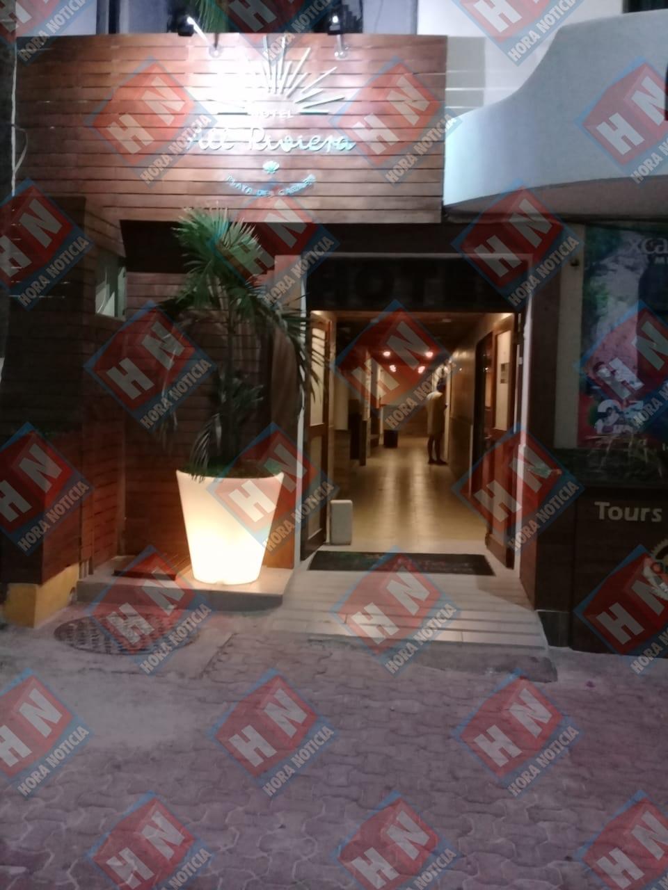 Por fortuna el asaltante no dejo personas lesionadas ni atacó a los huéspedes del hotel mismo que se encontraba lleno de turistas extranjeros.