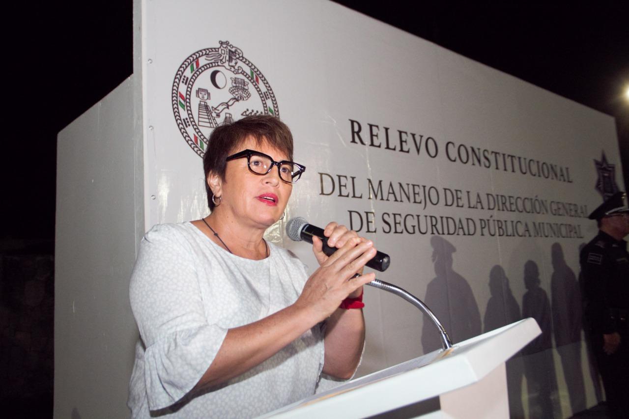 Presidenta electa Laura Beristáin
