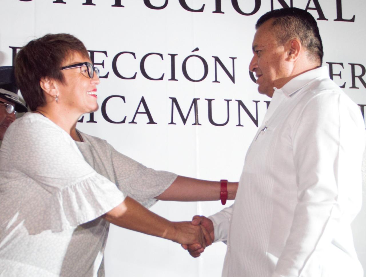 Nuevo titular de la DSPTyT en Solidaridad, Martín Estrada.