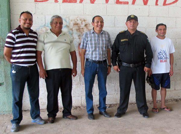 Nuevo titular de la policía en el poblado
