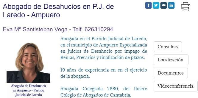 Abogada de Desahucios por Impago de Rentas en Laredo-Ampuero