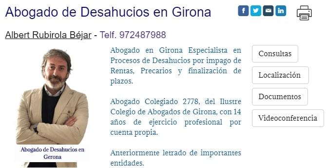 Abogados para Desahucios por Precario en Girona