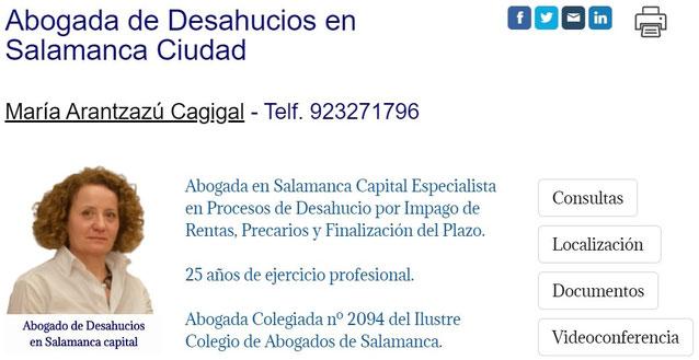 Abogado de Desahucios en Salamanca - Juicio de Desahucio por Impago de la Renta en Salamanca