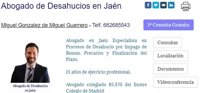 Abogado de Desahucios en Jaén - Juicio de Desahucio de Finca Rústica Olivar por Impago de la Renta en Jaén