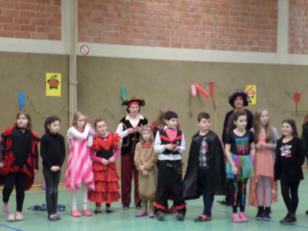 Fasching 2015 Niels-Stensen Grundschule Hameln