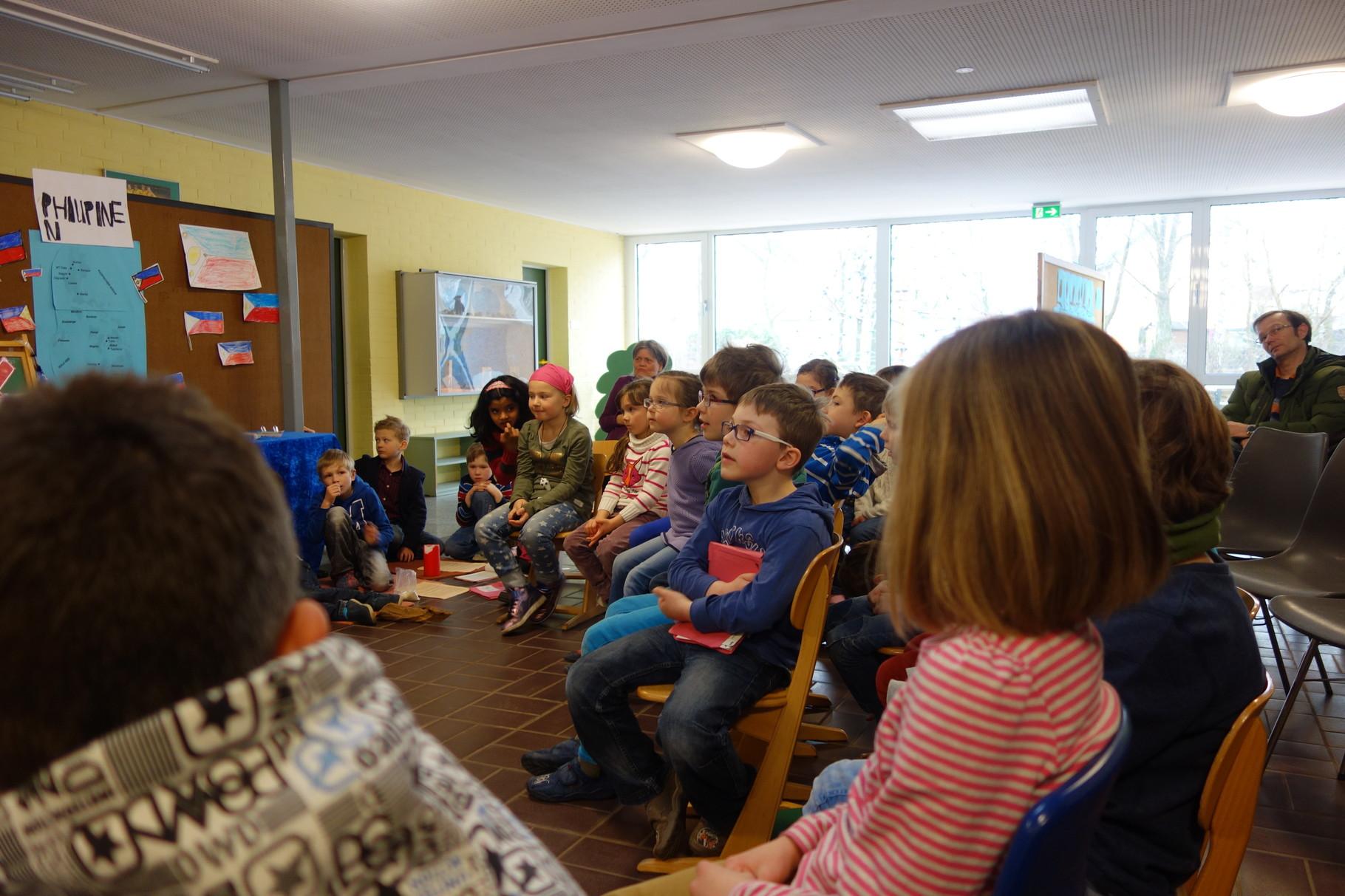 Ostergottesdienst 2015 Niels-Stensen Grundschule Hameln