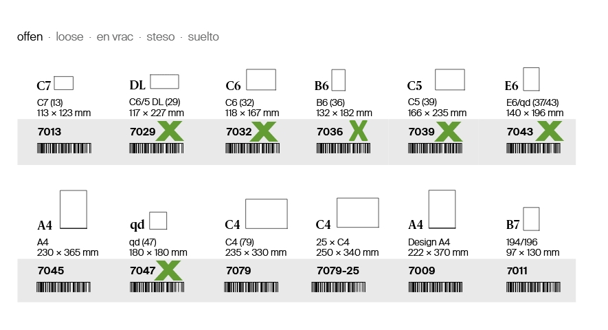Cellophanhüllen, Cellophanbeutel, Schutzhüllen für Karten, Artoz, Formate, Grössen, Cellophanhüllen für Karten, Schutzhüllen für Karten, Cellobeutel für Karten, Artoz, mit Selbstklebeverschluss, selbstklebend zu verschliessen,