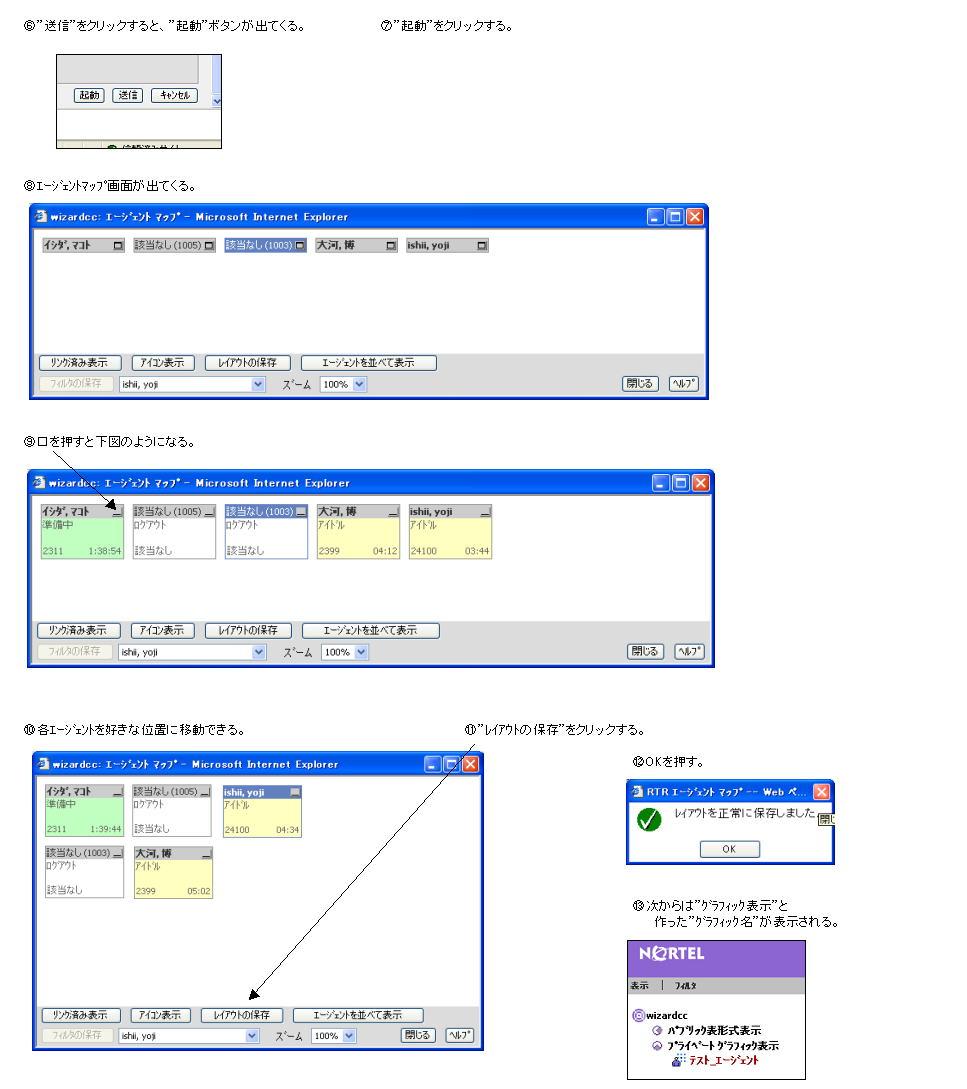 各種リアルタイム表示の例 説明図3
