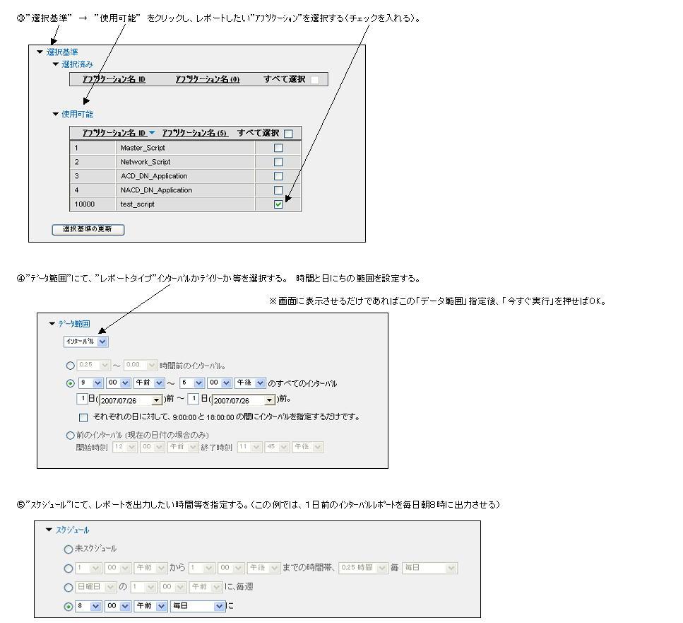 各種リアルタイム表示の例 説明図2