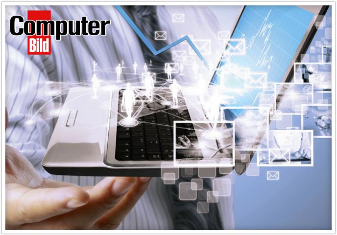Движение навстречу: статья и специальное предложение в журнале Computer Bild