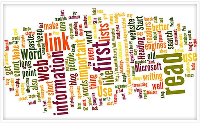 10 правил написания текстов для сайта – Jimdo
