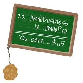 Выплата премии в программе партнеров Jimdo