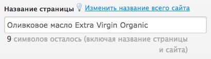 Название страницы должно включать в себя название товара, название категории и название магазина.