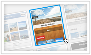 Как выбрать мобильный шаблон для твоего сайта Jimdo
