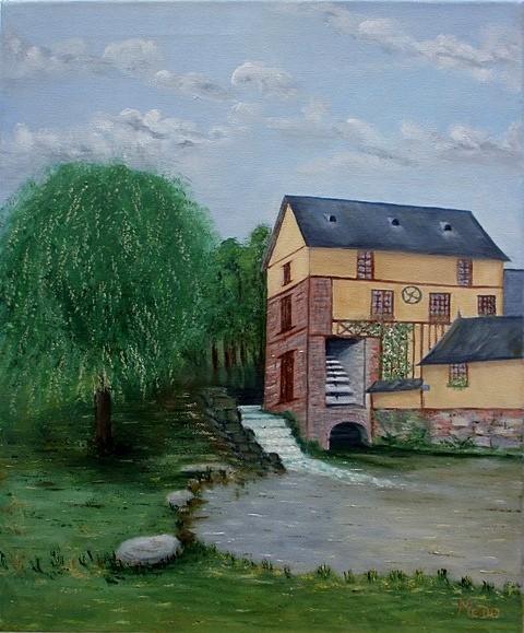Original à vendre : Moulin Vertu du Roy-Boissy dans l'Oise par MaDo