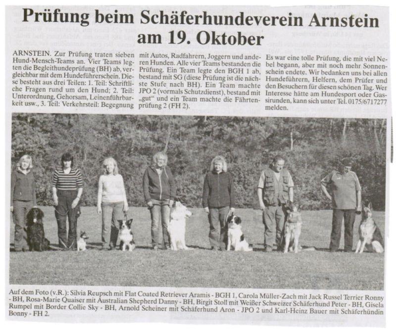 Hundesport Begleithundeprüfung, Schutzhundeprüfung, Fährtenprüfung