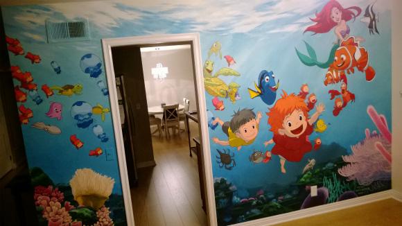 子供を思って楽しくする部屋に!これは私もやりたい!
