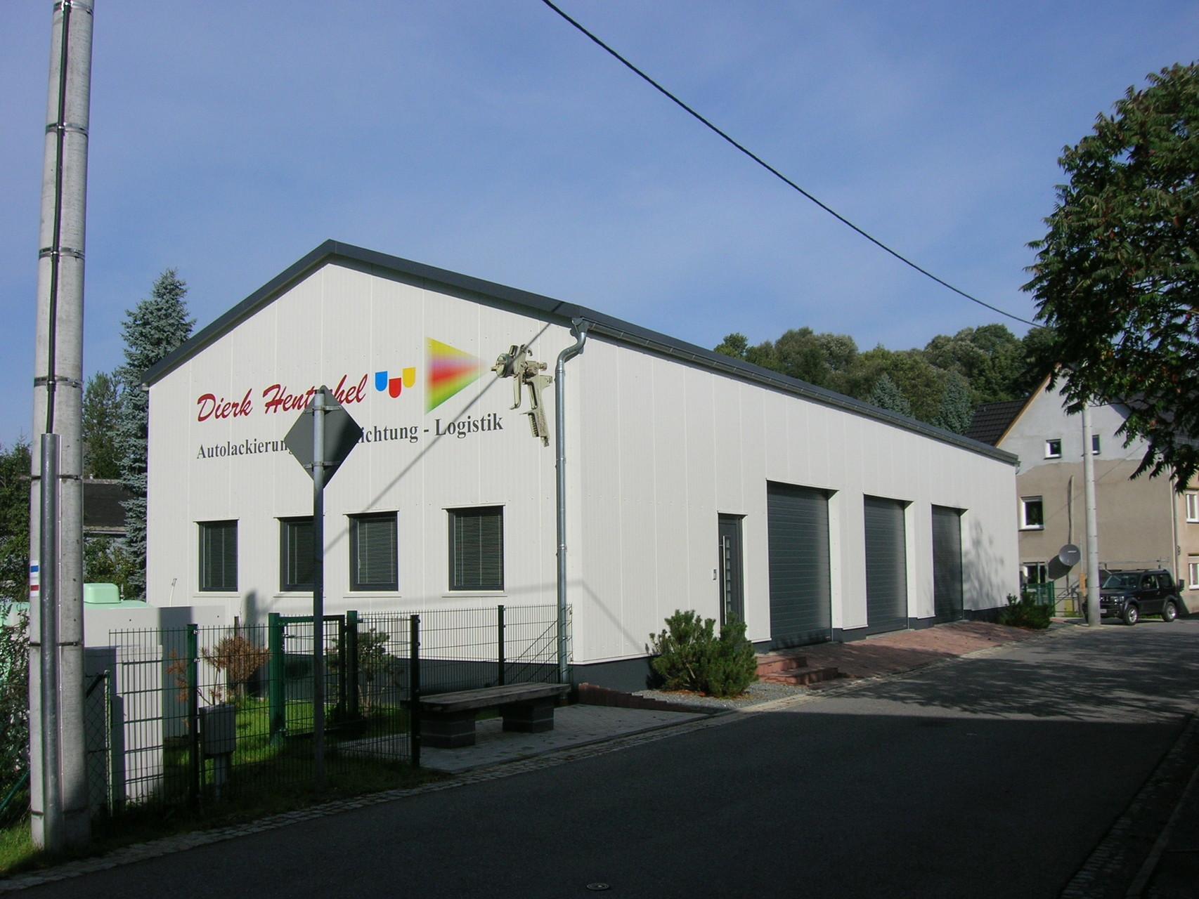 Neubau einer Halle, Friedersdorf, 2013