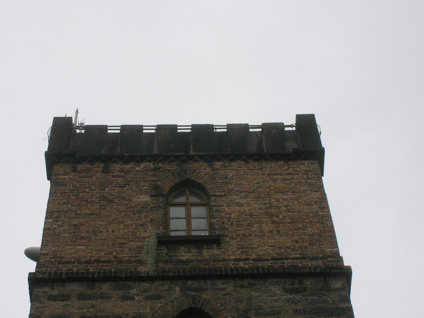 Hutbergturm in Kamenz vor der Aufstockung