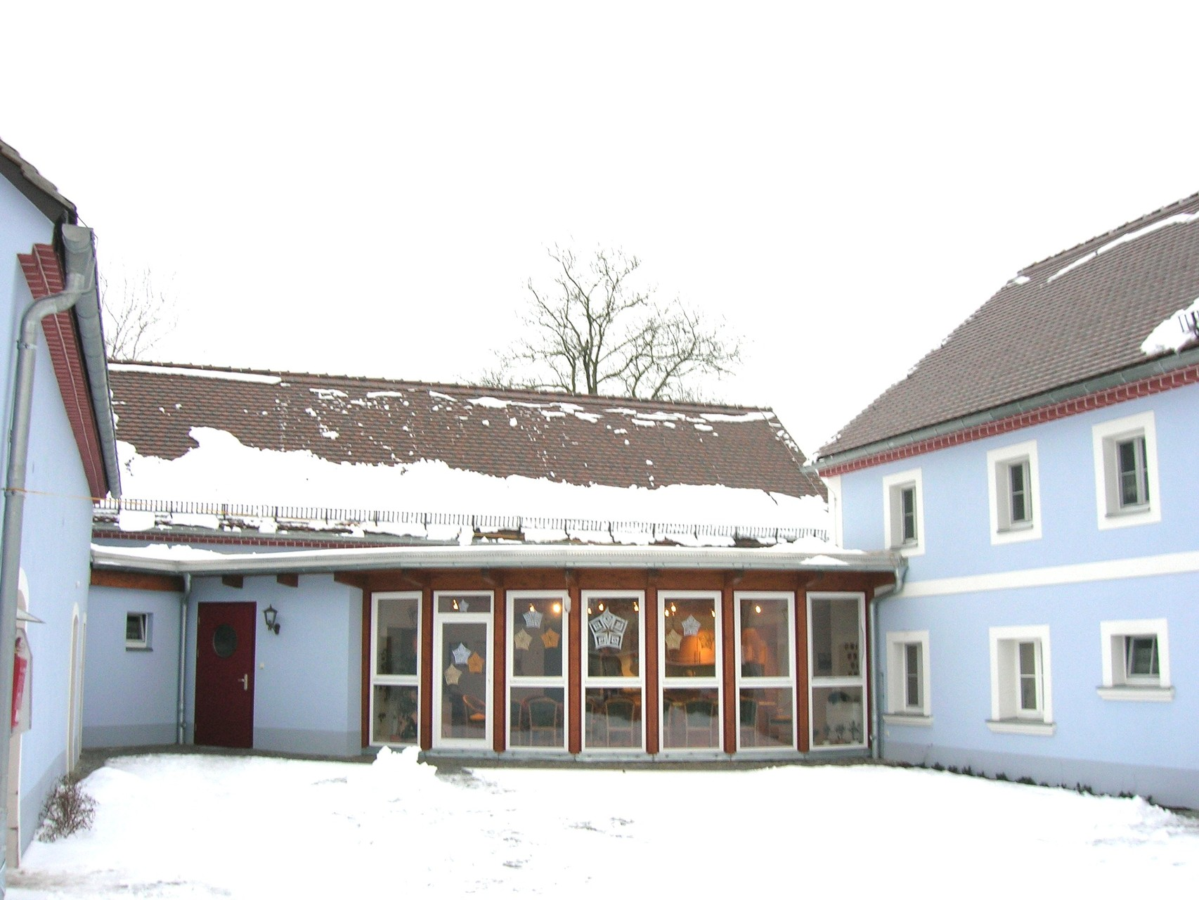 Missionshof Lieske, Umbau des Dreiseithofes zum Wohnheim, 2006
