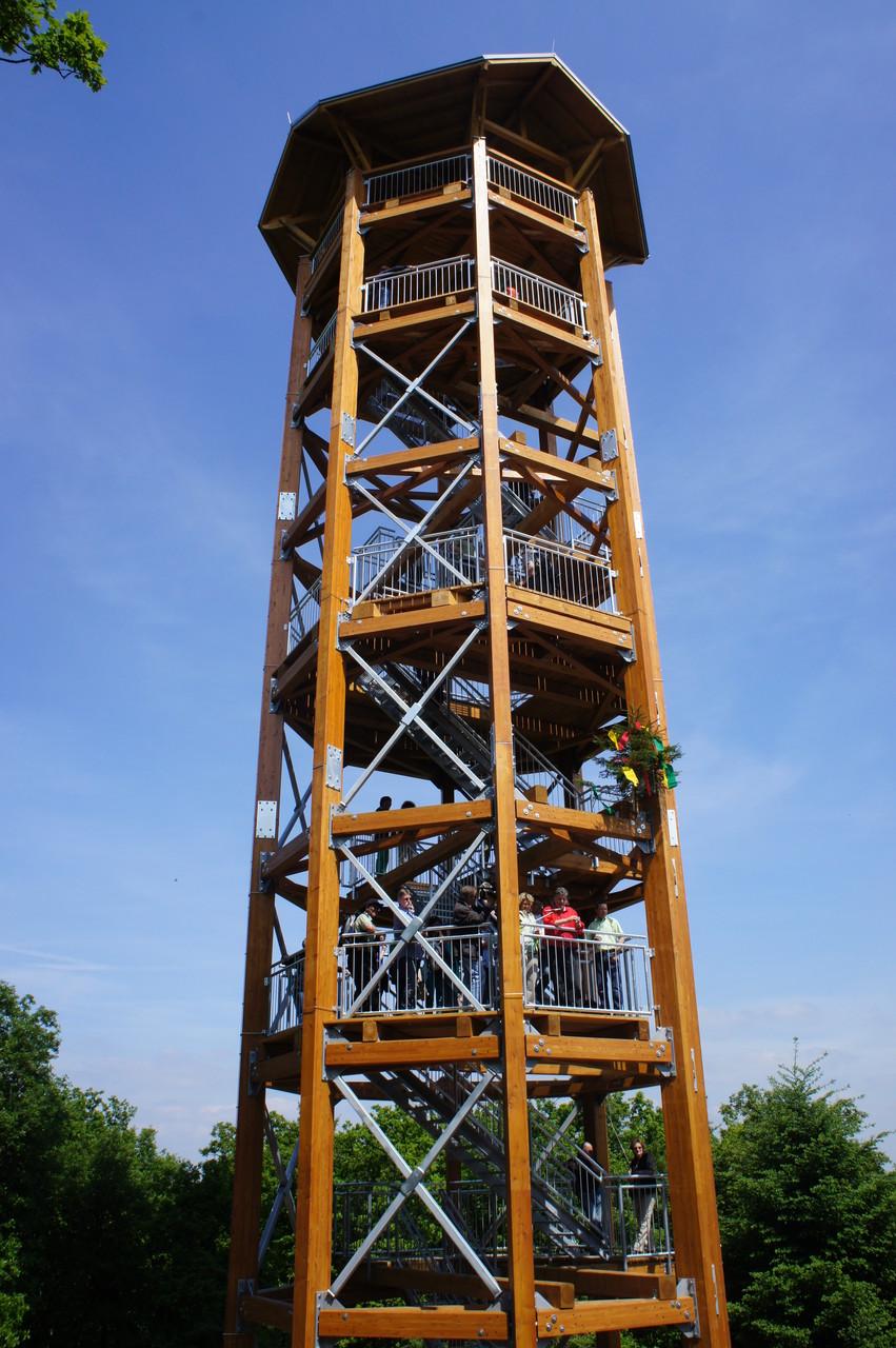 Aussichtsturm in Boppard am Rhein, 2014