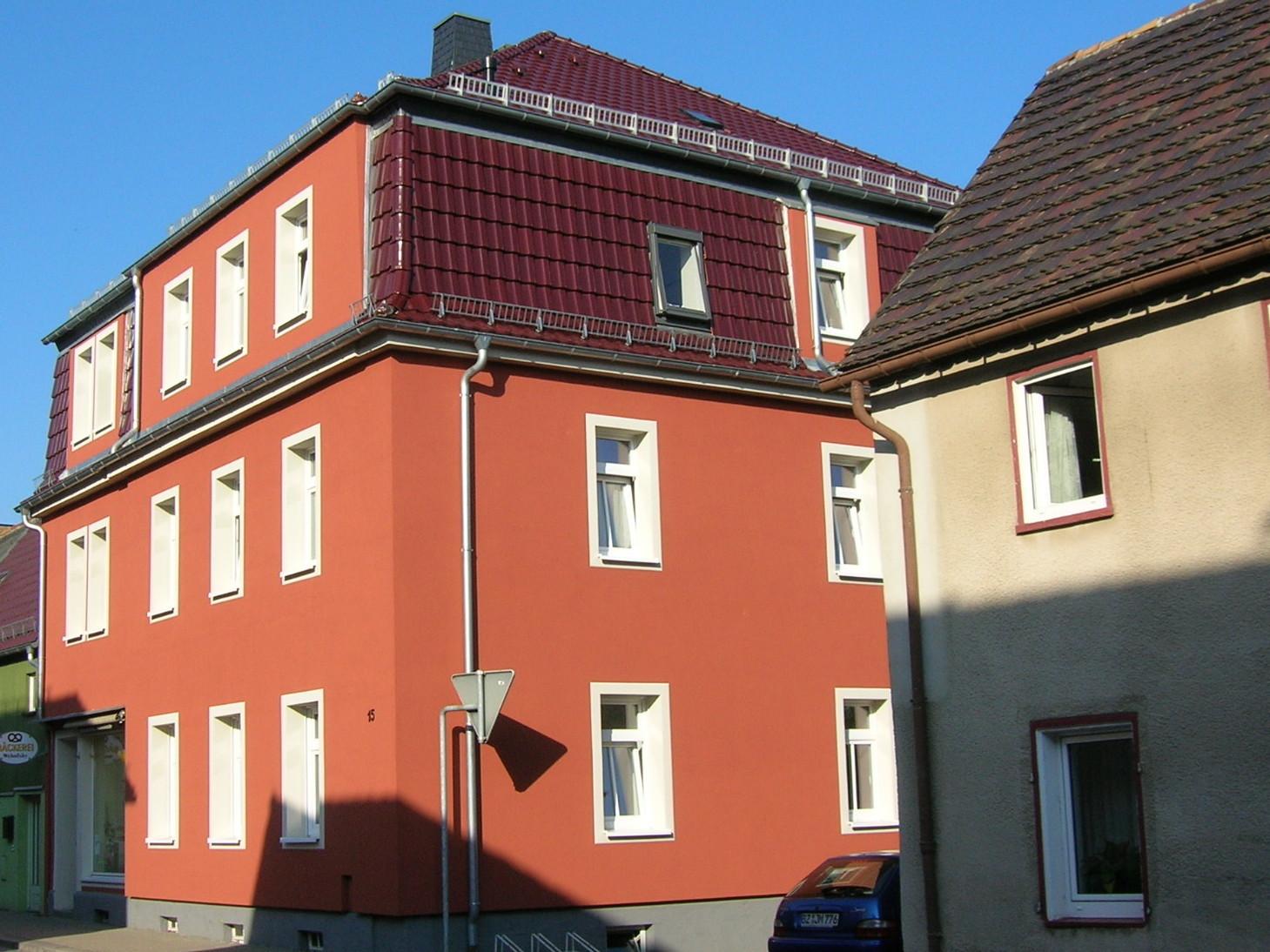 Rekonstruktion Wohn- und Geschäftshaus nach Brandschaden, Pulsnitz, 2012