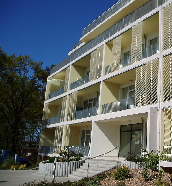 Umbau FDGB-Heim zur Ferienwohnanlage in Zempin, 2005