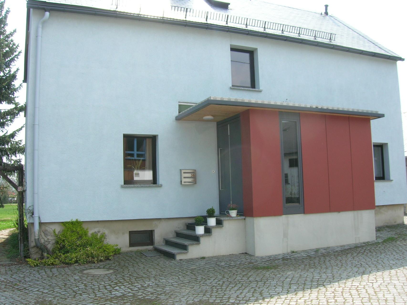 Wohnhaussanierung, Gersdorf, 2010
