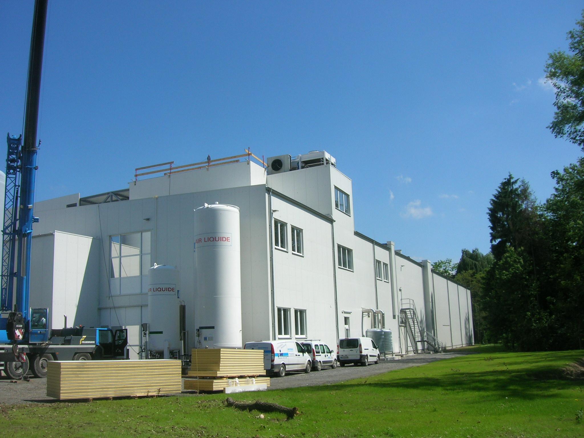 Heinrichsthaler Milchwerke GmbH, Käsereianbau, 2010