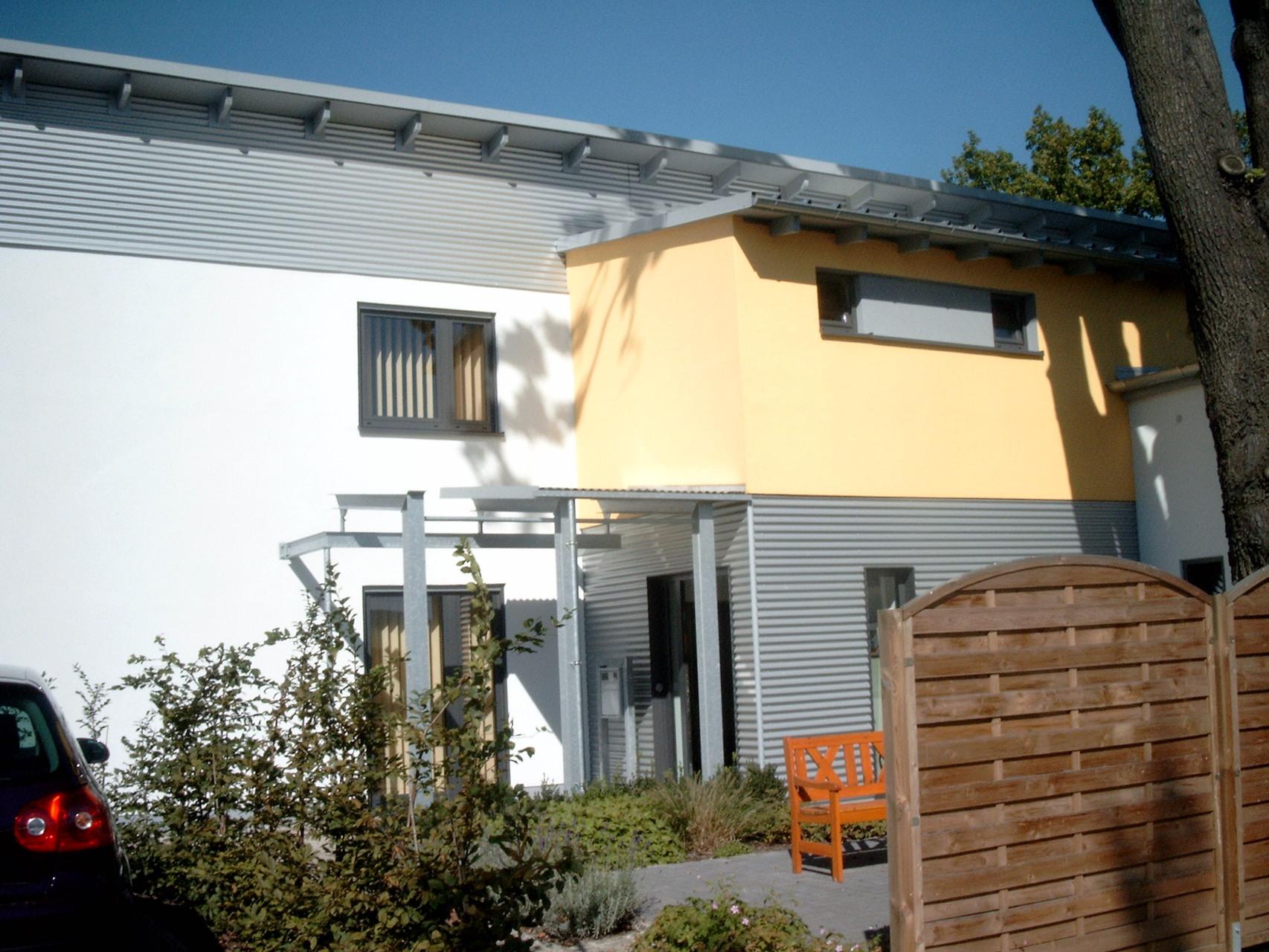 Büro- und Sozialgebäude, Haselbachtal, 2003