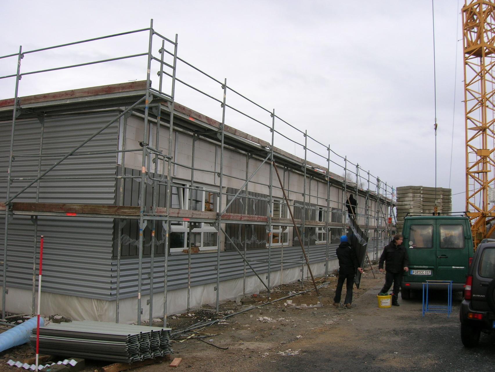 Neubau Fertigungshalle, Kamenz, 2013